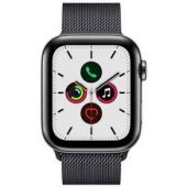 Apple Watch Series 5 (GPS) 44mm STAINLESS STEEL MILANESE 44mm Space MWWL2