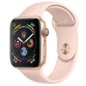Apple Watch Series 5 44mm GPS + Cellular Gold Aluminum Case with Sport Band - MWW02