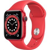 Apple Watch Series 6 (GPS, 40mm, Red) M00A3LL/A