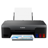 Canon Inkjet Printer G1020 NEW MODEL (Print Only) -Approx. 8.8 ipm, Refillable Ink Tank for High Volume Printing up to 6,000/7,000 pages (B&W/Color) 1 Years Warranty