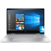"""HP ENVY x360 Laptop - 15t Touch CN0013ca - 8th Gen Ci7 QuadCore 16GB  1TBHDD+128GB SSD 15.6"""" Full HD IPS 360 Convertible Touchscreen Backlit KB Win10 FP Reader (Natural Silver, Certified Refurbished)"""